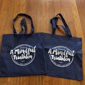 2 Wanderlust Festival Tote Bags